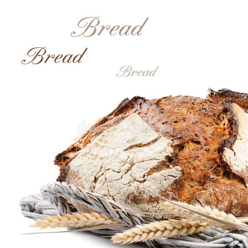 Pan tradicional recientemente cocido al horno foto de archivo libre de regalías