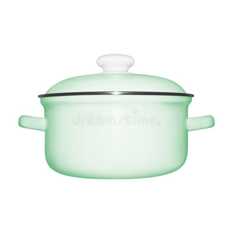 Pan in vector stock illustratie