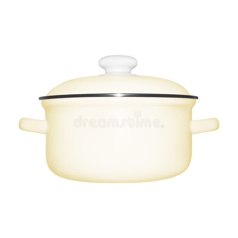 Pan in vector royalty-vrije illustratie