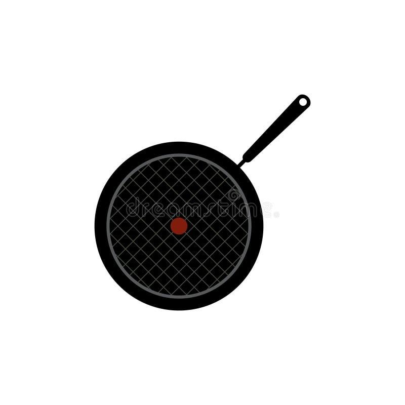 Pan vectorpictogram royalty-vrije illustratie