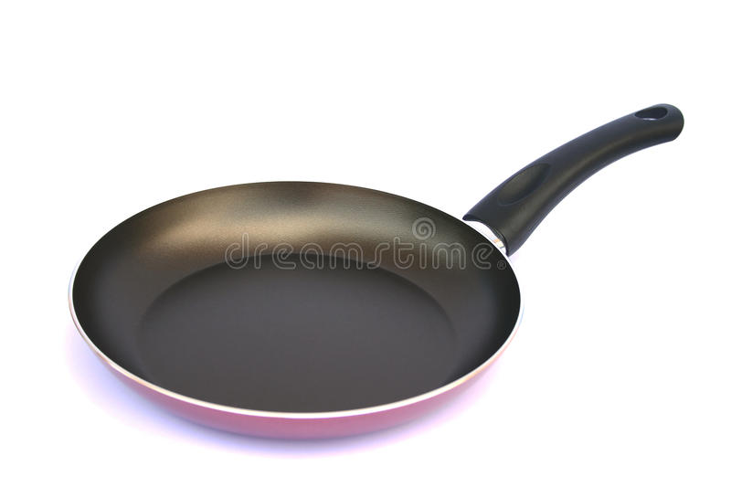 Pan on white royalty free stock image
