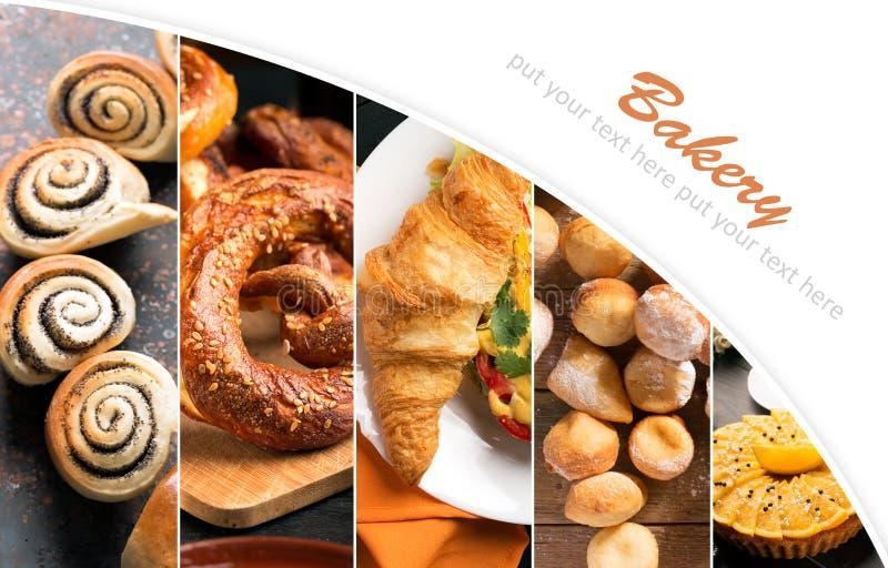 Pan y dulces fotos de archivo libres de regalías