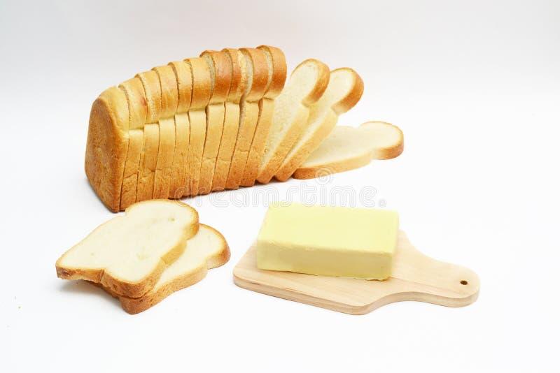 pan y mantequilla fotos de archivo
