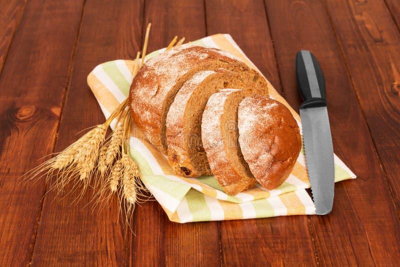 Pan y oídos del trigo foto de archivo