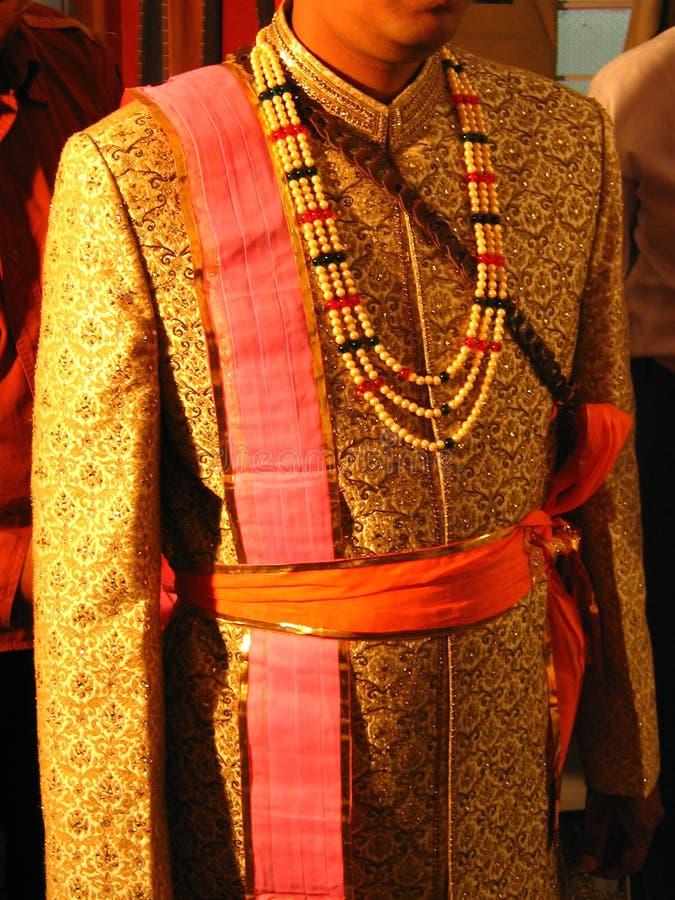pana młodego ubraniowy hindusów obrazy royalty free