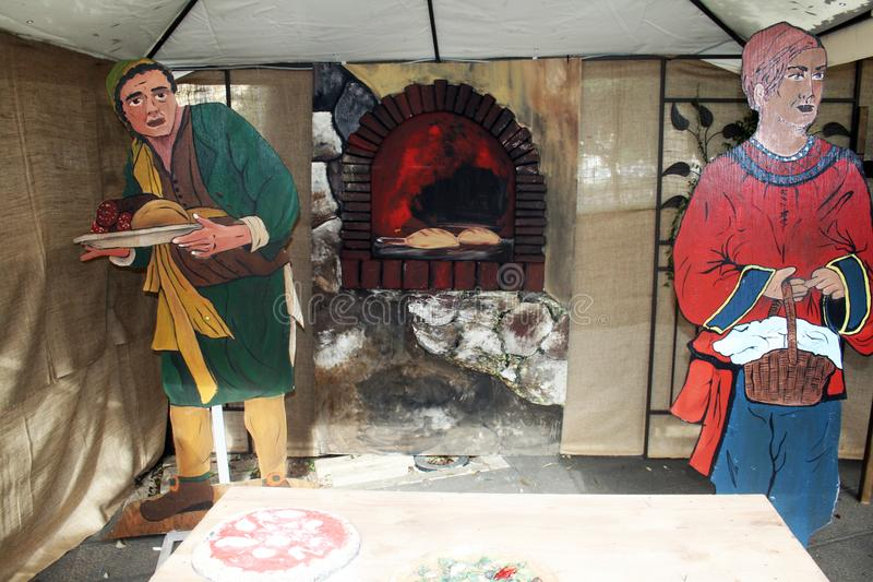 Panadería de la madera contrachapada fotos de archivo libres de regalías
