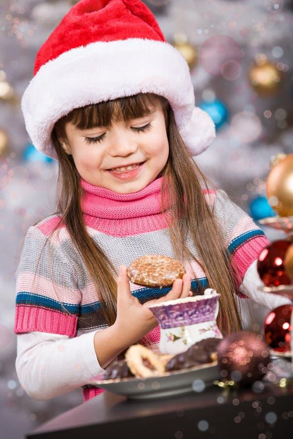 Panadería de Navidad imagenes de archivo