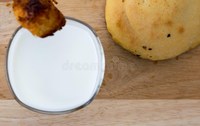 panadería del desayuno el mañana fotografía de archivo