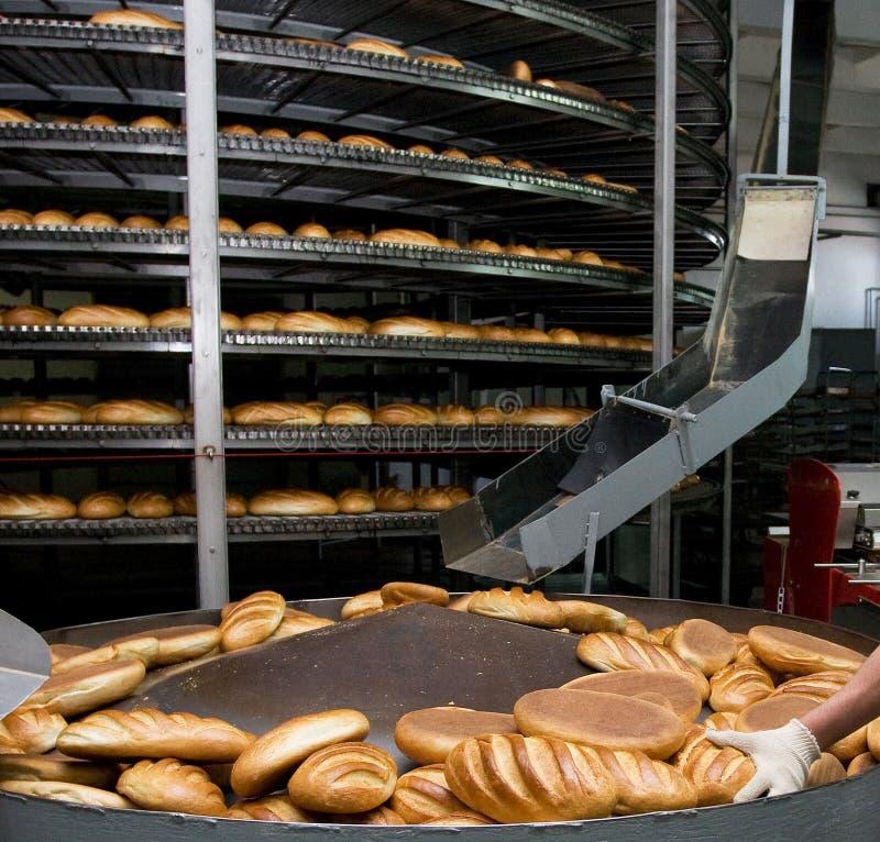 Panadería del pan foto de archivo
