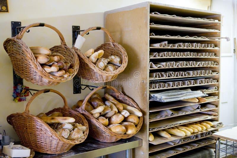 Panadería en Valensole fotos de archivo libres de regalías