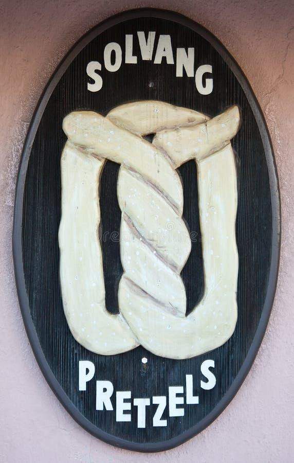 Panadería, Solvang, California foto de archivo libre de regalías