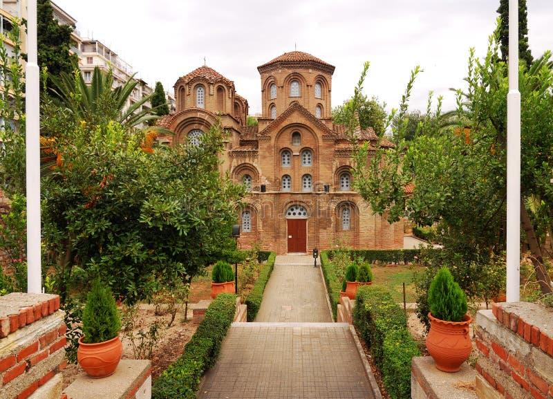 Panagia Chalkeon, Salónica, Grecia imágenes de archivo libres de regalías