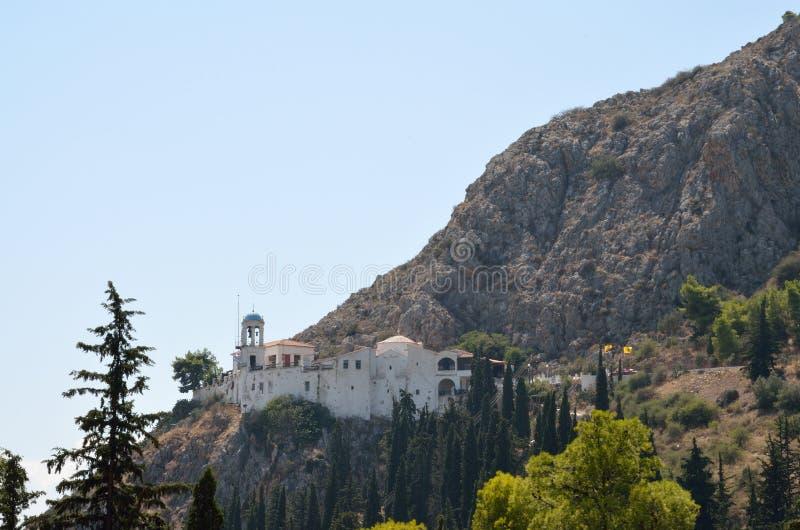 Panagia Katakekrymeni Portokalousa em Argos em Peloponnese, Grécia imagem de stock royalty free