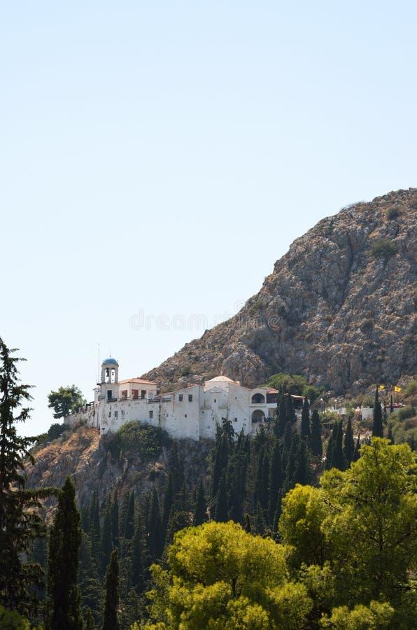 Panagia Katakekrymeni Portokalousa en Argos en Peloponeso, Grecia fotografía de archivo libre de regalías
