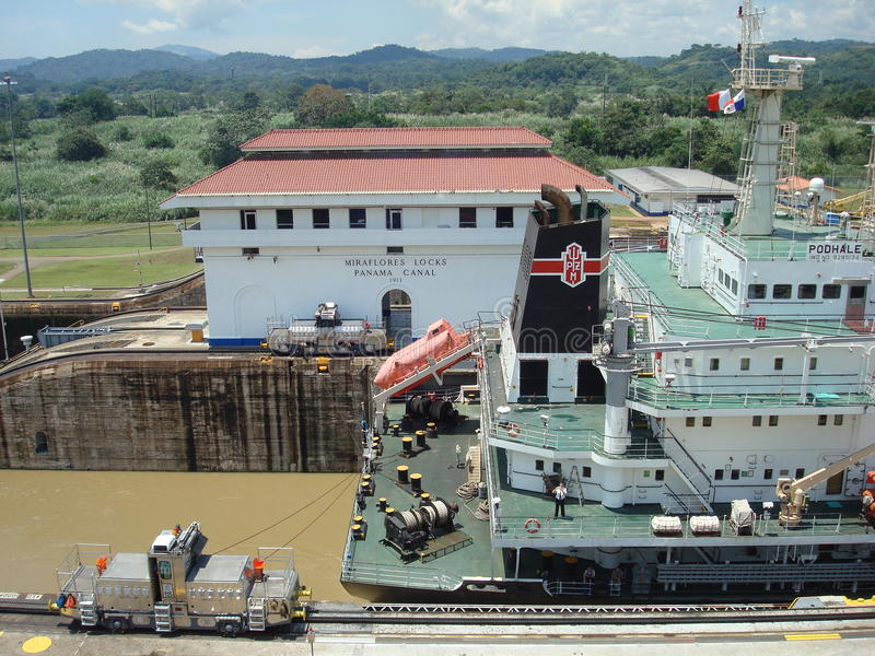 Download Panama canal editorial photography. Image of architectural - 20623482