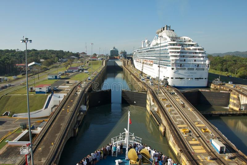 Panama Canal stock photography
