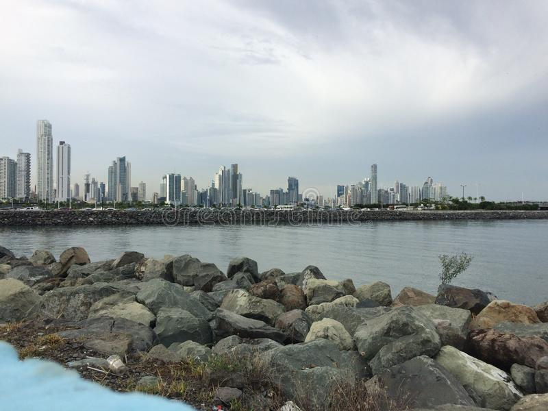 Panama city obrazy royalty free