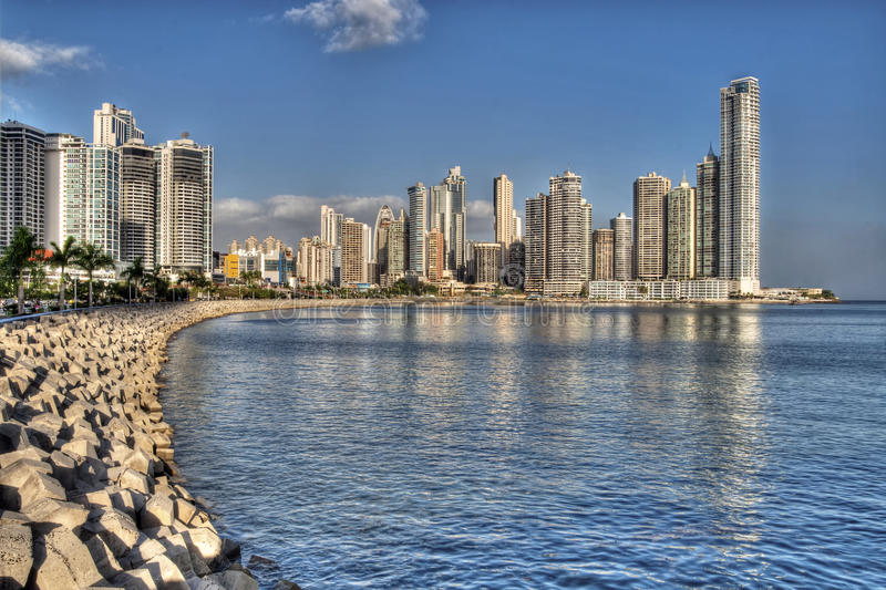 Panama City royaltyfri bild