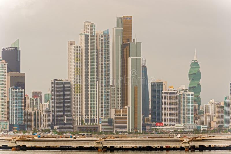 Panama City royaltyfri foto