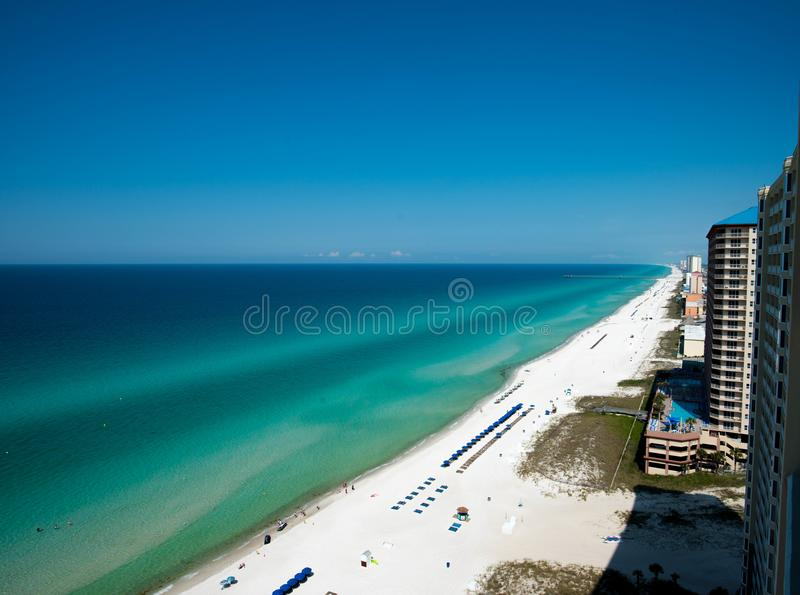 Panama City Beach Florida royalty free stock photography