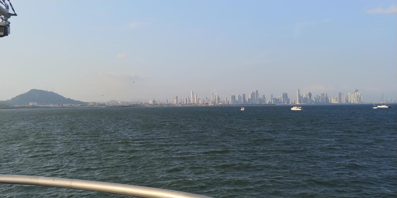Panama city fotografia royalty free