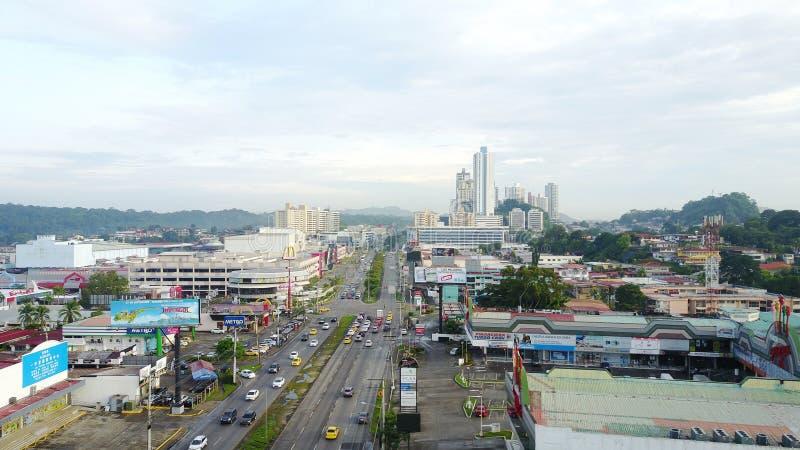 Panama City is the most modern. PANAMA CITY, PANAMA-SEP 14, 2017: Panama City is the most modern city in Central America royalty free stock photo