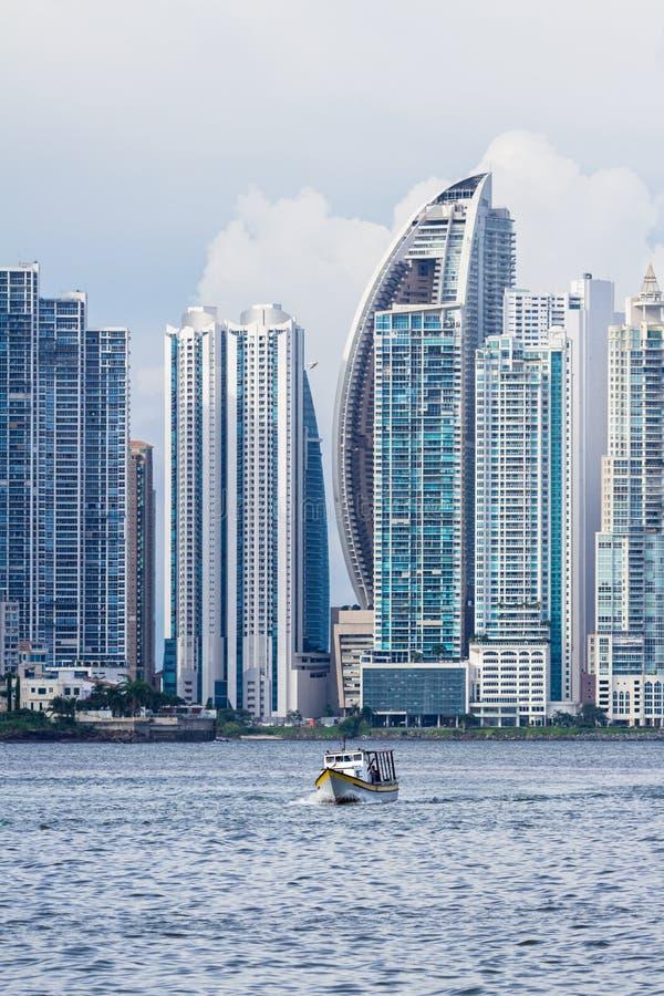 Panama City Panama arkivbild