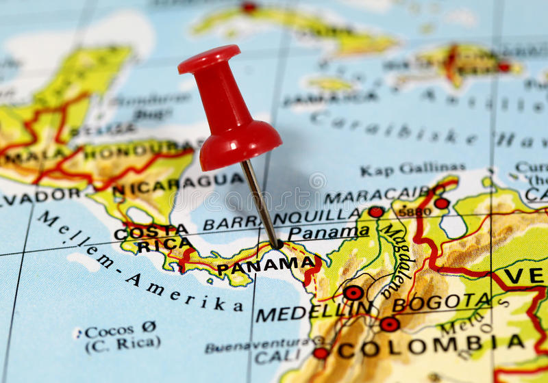 Panama City in Panama royalty free stock photos