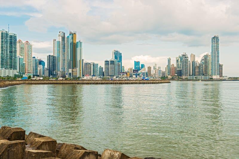 Panama City Skyline. Editorial Photography