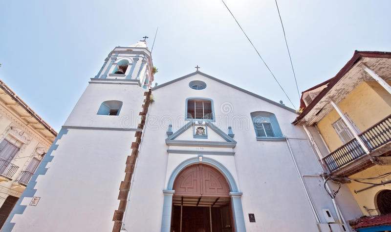 Panama- Cityalte Kirche lizenzfreies stockfoto