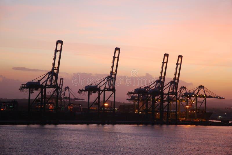 Panama Port stock image