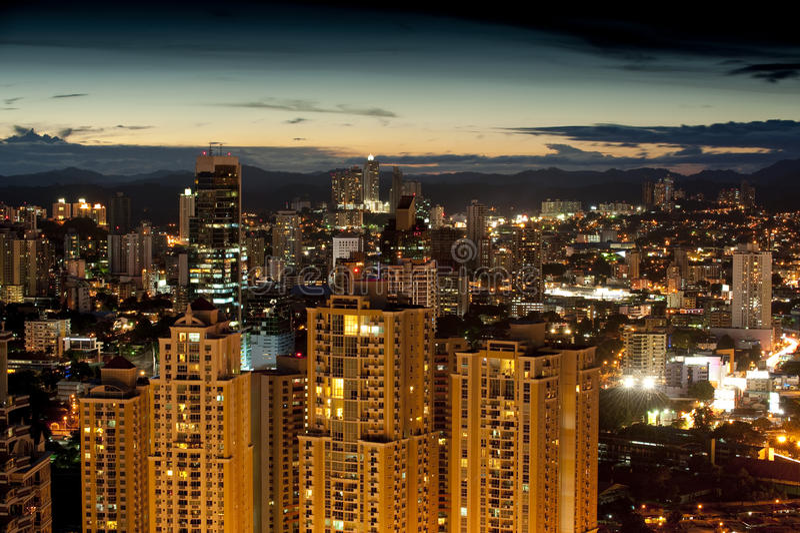 Panama-Stadt stockfotografie
