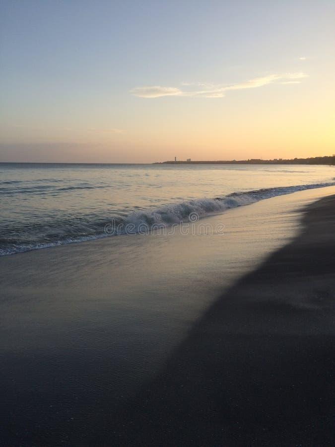 Panama-Strand lizenzfreie stockbilder