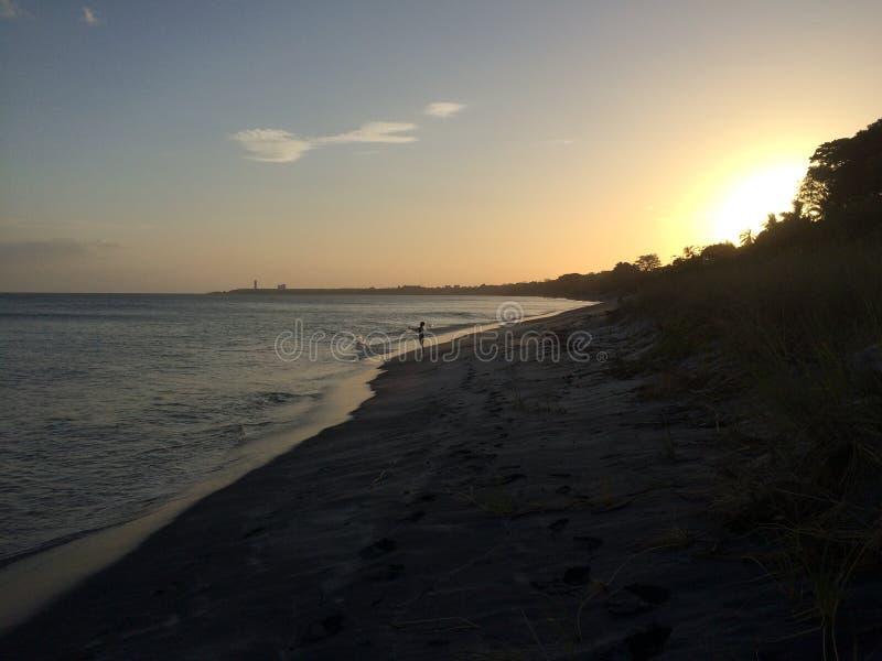 Panama-Strand stockbild