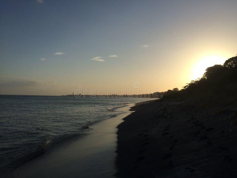 Panama-Strand stockfoto