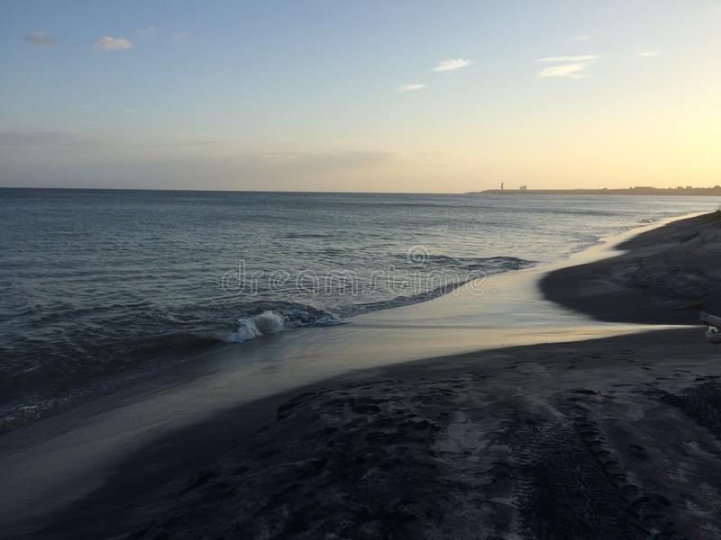 Panama-Strand lizenzfreie stockfotografie