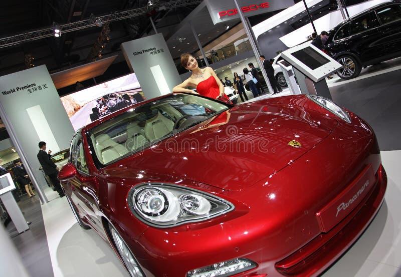 panamera Porsche στοκ εικόνες