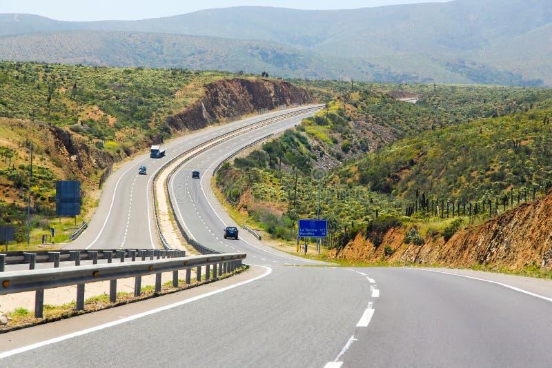 Panamerican huvudväg royaltyfria bilder