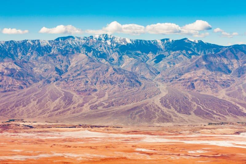 Panamint berg Death Valley NP Kalifornien USA royaltyfri fotografi