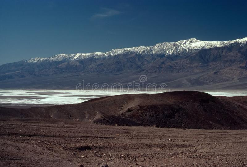 Panamint Mountain Stock Image