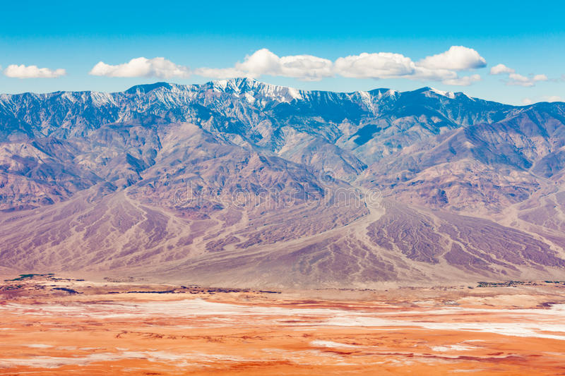 Panamint Mountains Death Valley NP California USA royalty free stock photography