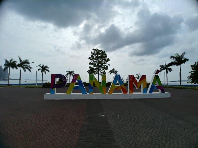 Panamski logo zdjęcie stock