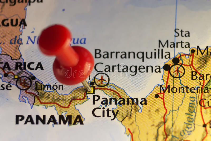 Panamski miasta capitol Panama ilustracji