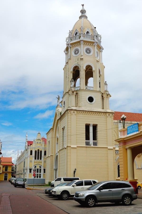 Panamski miasta casco viejo zdjęcia royalty free