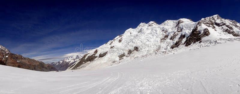 Panarama em Abel Tasman Glacier foto de stock
