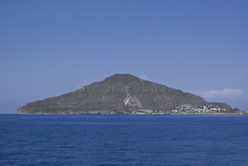 Panarea στα αιολικά νησιά, Σικελία στοκ φωτογραφία με δικαίωμα ελεύθερης χρήσης