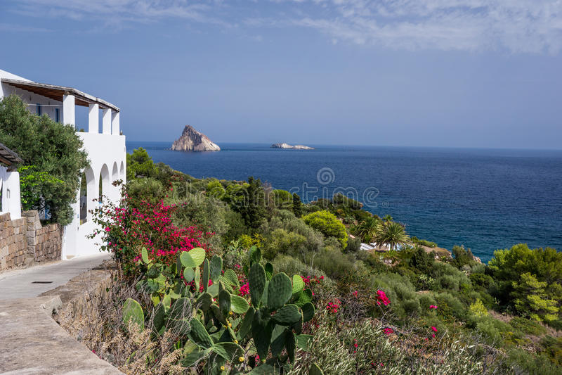 Panarea royalty free stock image