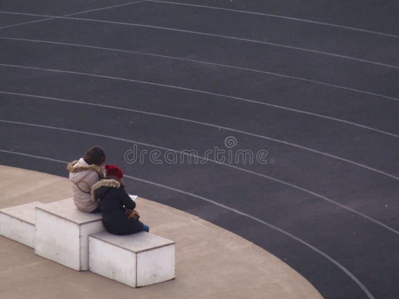 panathenaic stadion royaltyfria bilder