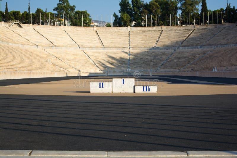 panathenian stadion arkivbilder