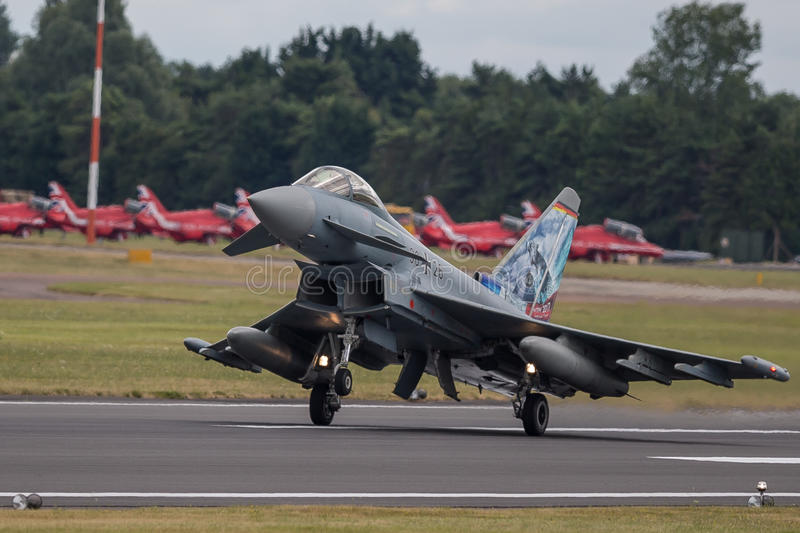 Panavia Tornado. The Panavia Tornado is a family of twin-engine, variable-sweep wing multirole combat aircraft, which was jointly developed and manufactured by royalty free stock images